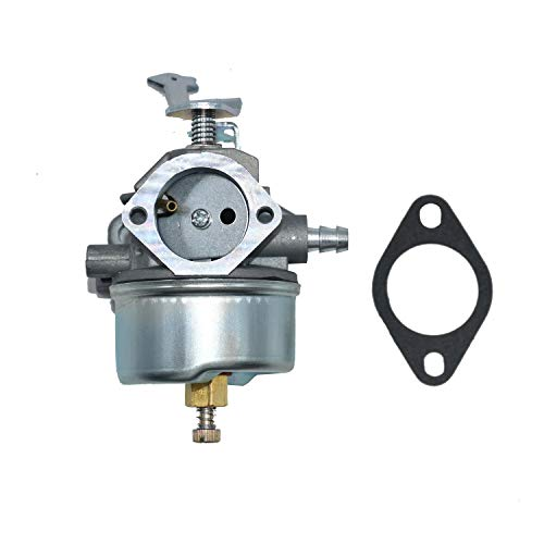 Carbman 632424 Carburetor with Gasket for Tecumseh HH120-120173H HH100-115267H HH100-115230H 4 Cycle Horizontal Engine