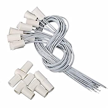 10pcs RC-33 NC Recessed Wired Window Door Contact Sensor Alarm Magnetic Reed Switch White