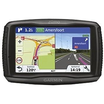 """Garmin zūmo 595lm Travel Set 5""""LCD Touch Screen 374.5g Navigator–Black (Full Europe, 12.7cm (5'), 800x 480pixels; LCD;% x 108mm (4.25x 2.55), SSD)"""