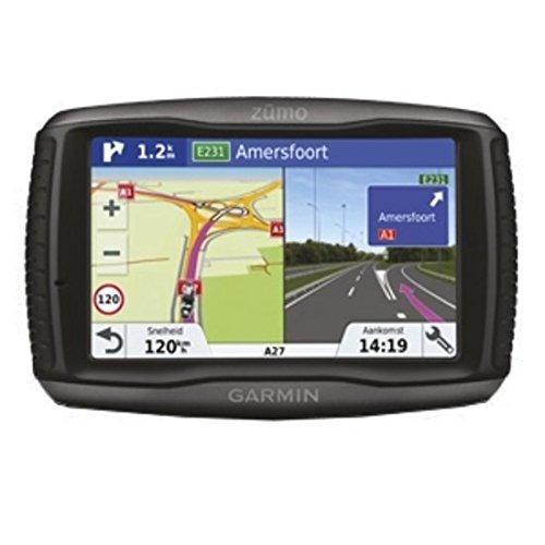 "Garmin zūmo 595LM Travel Fijo 5"" LCD Pantalla táctil 374.5g Negro navegador - Navegador GPS (Toda Europa, 12,7 cm (5""), 800 x 480 Pixeles, LCD, 64,8 x 108 mm (2.55 x 4.25), SSD)"