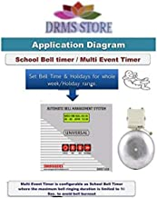 DRMS Automatic School Bell Management System Multipurpose Timer for Schools