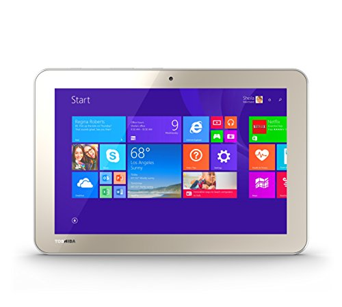 Toshiba Encore 2 WT10-A32 10.0-Inch 32 GB Tablet, Gold