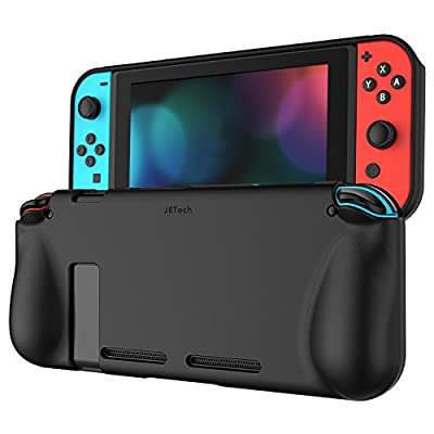 JETech Protective Case for Nintendo Switch 2017, Grip Cover with Shock-Absorption and Anti-Scratch Design