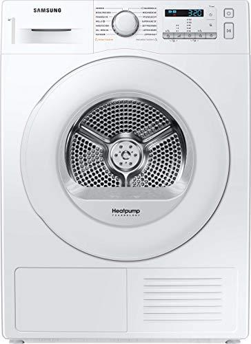 Samsung DV80M5210IW/EG Wärmepumpentrockner/8kg/60 cm Höhe/Kondenswasserstandsanzeige/Kurzprogramm/Alarm Mischbeladung/SmartCheck