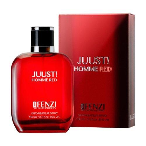 "JFenzi Jfenzi ""juust homme red"" men eau de parfum 1er pack 1x100ml"