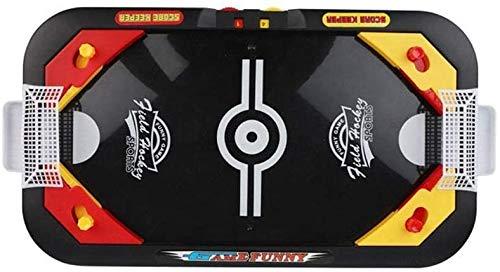 Bck Desktop Battle 2 in 1 Eishockey Spiel Mini Tisch Fußballhockey, pädagogisches Interaktives Spielzeug Kinder Kindertisch Air Hockey