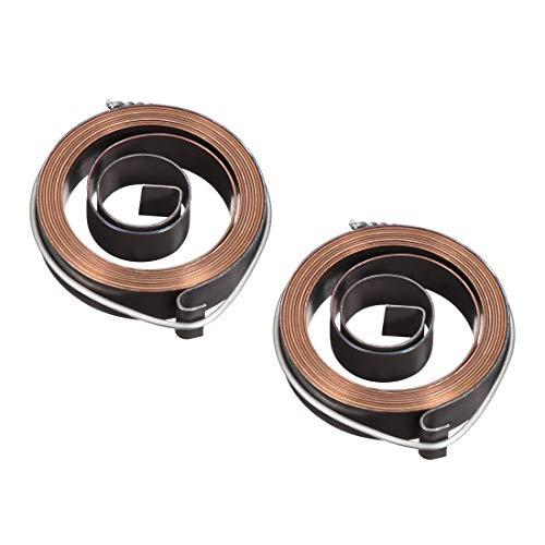 Great Price! uxcell Drill Press Spring, Quill Feed Return Coil Spring Assembly, 5Ft Long, 52 x 12 x 0.7mm 2pcs