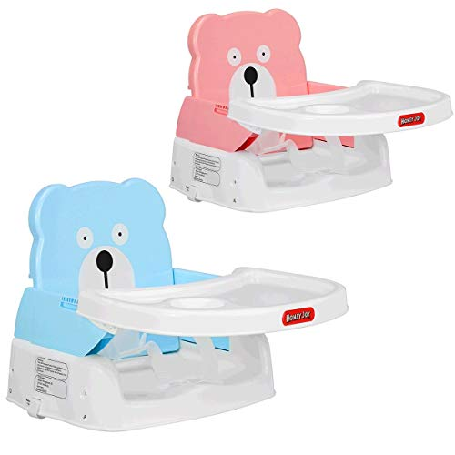 Best Deals! Pink, This Comfort Folding Booster seat is a Convenient, Comfortable Solution for Eating...