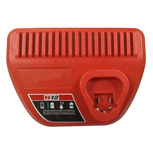 Printasaurus Hepa Filte  for Milwaukee N12 Li-Ion Red Lithium 12V Battery 48-59-2401 48-11-2440 Charge UK Home & Garden Vacuum Cleaner Accessories -  ZJUSAQQ90805006