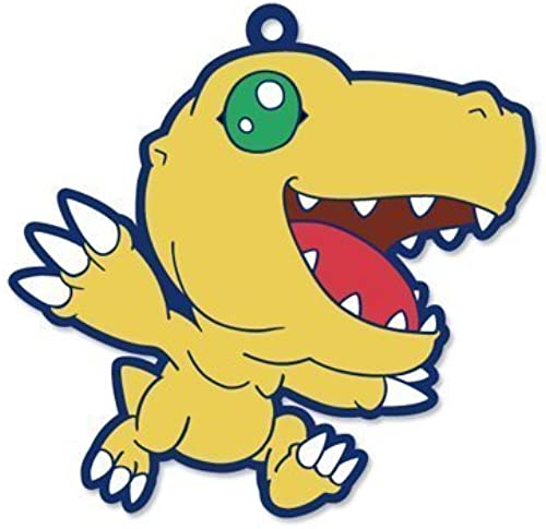Digimon Adventure Trading Strap Vol.03 Agumon separately by Hobby Stock