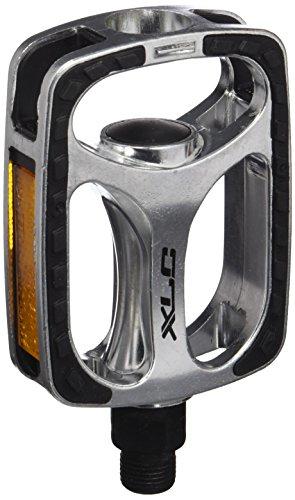 XLC City- / Comfort-Pedal PD-C03, Silber, Schwarz, One Size