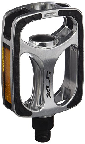 XLC City- / Comfort-Pedal PD-C03, Silber, Schwarz, One Size