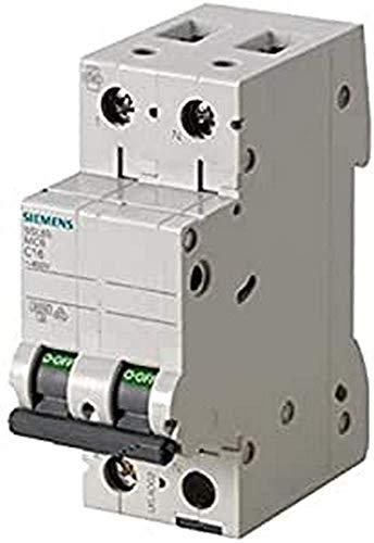 Siemens 5sl6 - Automático magnetotérmico 230v 6ka 1+neutro polos c 20a