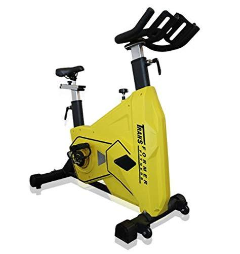 Lcyy-Bike Bicicletta Trainers Manuale di Resistenza Regolabile 22,5 kg Volano Cardio Workout con Portatavoletta Regolabile Manubrio E Altezza del Sedile