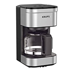 PERFECT FOR 1 OR 2: Brews up to 5 cups of coffee/ 750 ml/ 25 fl ounces. CONVENIENT: Allows you to pour a cup of coffee while brewing and automatically keeps your coffee warm. SIMPLE AND EASY TO USE: Coffee pot with no drip spout, which controls the m...