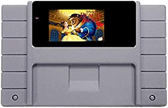 16 Bit 46 Pin Game Cartridge - Beauty And The Beast Game Card For 46 Pin 16 Bit NTSC Game Player