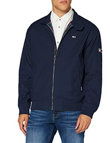 Tommy Jeans Herren TJM Cuffed Cotton Jacket Jacke, Blau (Twilight Navy), X-Small