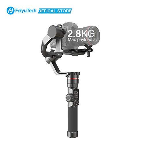 FeiyuTech AK2000 Kamera Gimbal, DSLR Stabilisator Handheld Camera Stabilizer 3-Achsen bis 2,8kg für Spiegellose Canon 6D 5D Mark Nikon D500 D7500 Sony A9 A7R2 A6500 A7R3 Panasonic GH5S GH4