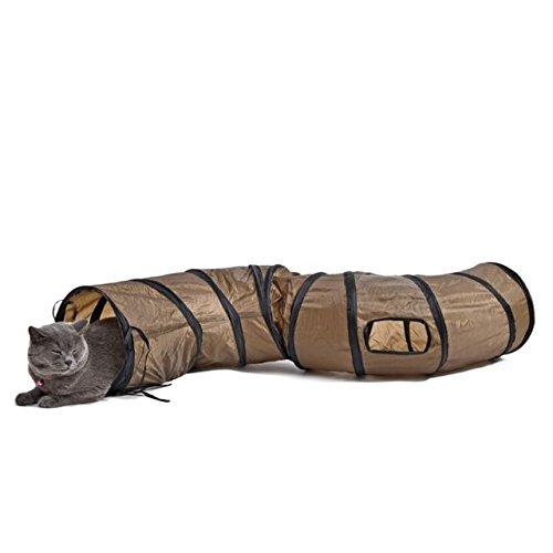 Katzentunnel Kitten Tube Katze Spielzeug 25 * 120cm