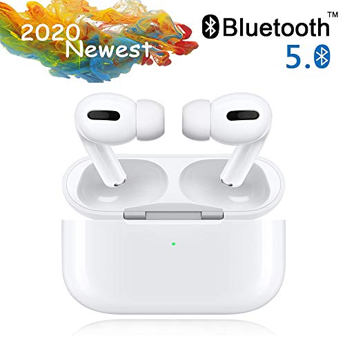 Cuffie Bluetooth, Auricolari Bluetooth 24h Playtime 3D stereo HD Cuffie Wireless, Binaurale Call auto Pairing,Con Scatola di Ricarica,Per Samsung / iPhone11 / Android/AirPods Pro/Apple