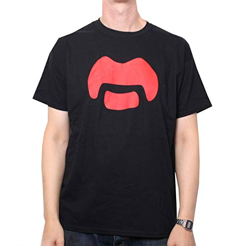 Frank Zappa T Shirt - Zappa Moustache Logo 100% Official US Import