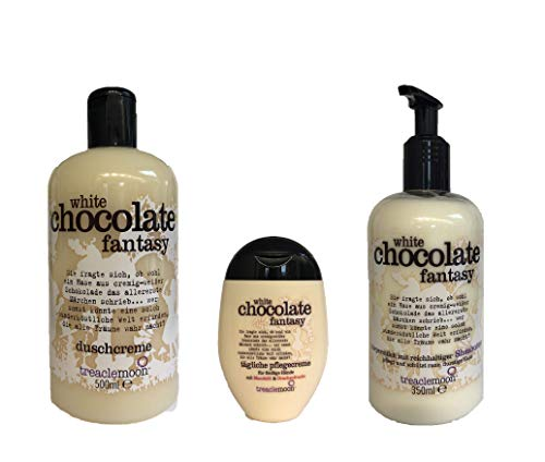 Treaclemoon White Chocolate Fantasy 3-tlg. Set Dusche Körpermilch Handcreme