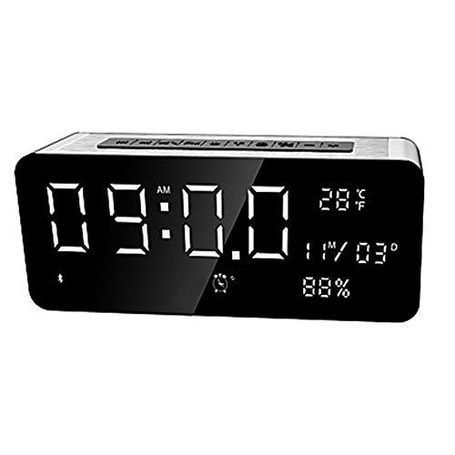 Kaper Go Bluetooth Lautsprecher Mini Karte Subwoofer Handy Audio Outdoor MP3 Player Walkman mit Uhr