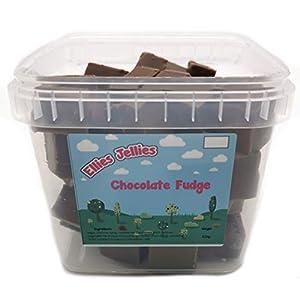 ellies jellies® chocolate fudge 810g square tub Ellies Jellies® Chocolate Fudge 750g Square Tub 41 XTCBieAL