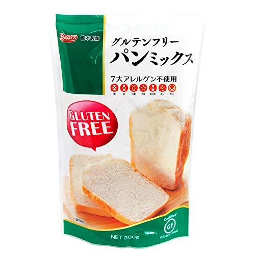 熊本製粉 グルテンフリーパンミックス 300g