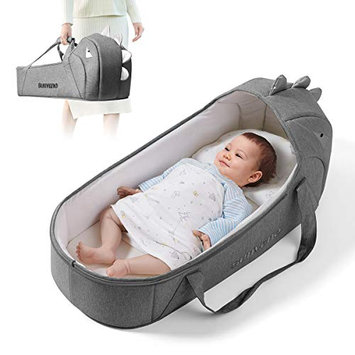 Sunveno Baby Bed and Baby Lounger Moses Basket