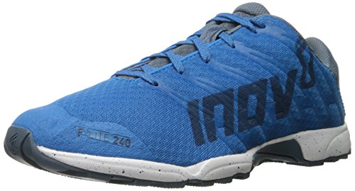 Inov-8 Men's F-Lite 240-M Cross-Trainer Shoe, Blue/Grey/White, 9 M US
