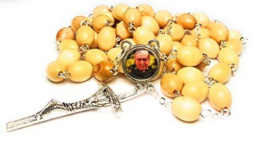 Relic Rosary Padrão de São Josemaria Escrivá de Balaguer de Opus Dei canonizado pelo Papa João Paulo II sacerdote español