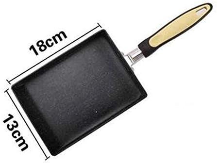 ZCJUX Wok Frying Pan antiadhésif, crêpes Cuisinière à gaz Poêle Pan Ménage Cuisinière à induction pain Poêle à oeufs Marmite Ustensiles de cuisine (Color : C) C