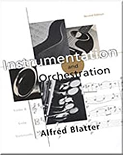 Best instrumentation and orchestration alfred blatter Reviews