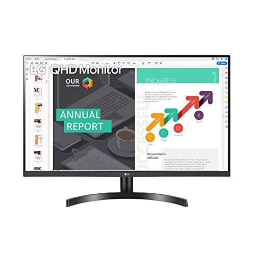 LG 32QN600-B 32-Inch QHD (2560 x 1440) IPS Monitor with HDR 10, AMD FreeSync with Dual HDMI Inputs, Black (Renewed)