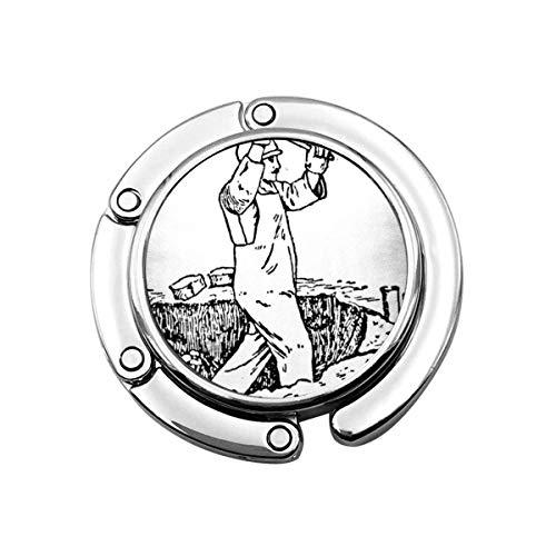 Faltbare Handtasche Kleiderbügel Geldbörse Haken, Graphic Novel