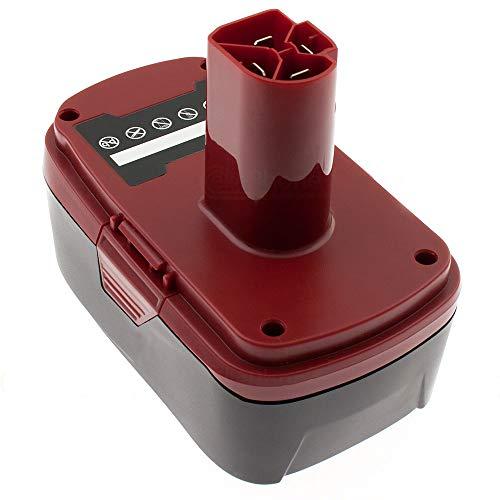 cellePhone Akku Li-Ion kompatibel mit Craftsman 101260 101540 101541 (Ersatz für 11371) - 3000 mAh / 19,2V