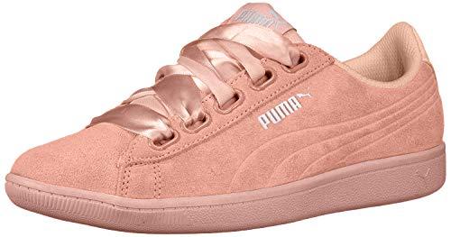 PUMA Women's Vikky Sneaker, Dusty Coral-Dusty Coral, 7.5 M US