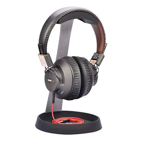 Avantree HS102 Kopfhörer-Halterung Halter Ständer, Stabil kopfhörerständer mit Kabelhalterung für Sennheiser, Sony, Audio-Technica, Bose, Beats, AKG, Gaming Headset, Metall & Silikon Tisch Headphone Stand