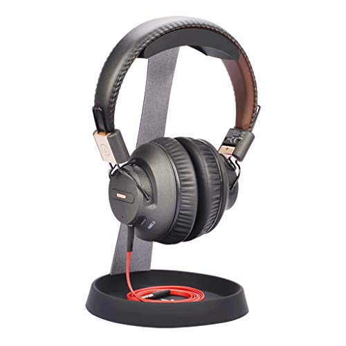 Avantree HS102 Kopfhörer-Halterung Halter Ständer, Stabil kopfhörerständer mit Kabelhalterung für Sennheiser, Sony, Audio-Technica, Bose, Beats, AKG, Gaming Headset, Aluminium Tisch Headphone Stand