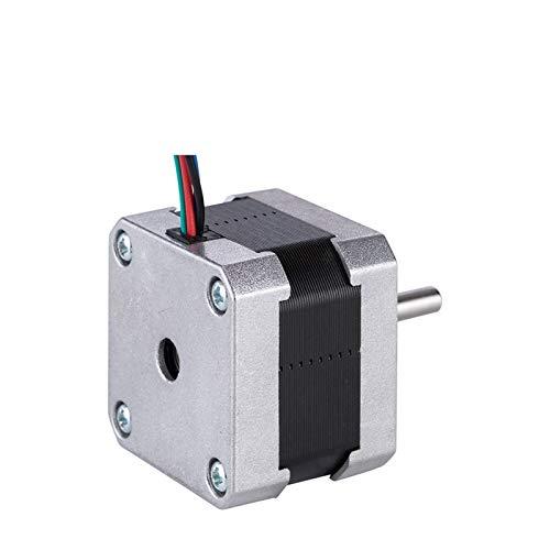 QINGRUI Komponenten 3pcs Stepper Motor 42mm 15Ncm 1A 2 Phase (17CS01A-100) 4-Kabel for die 3D-Drucker CNC Motor dauerhaft (Color : 17CS01Ax3pcs)