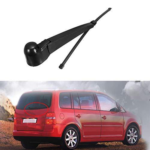 HUYAYUN Repuestos para VW Touran 2003 2004 2005 2006 2007 2008 2009 2010 Brazo y Cuchilla de limpiaparabrisas de Ventana Trasera de Coche 1 Juego 16'