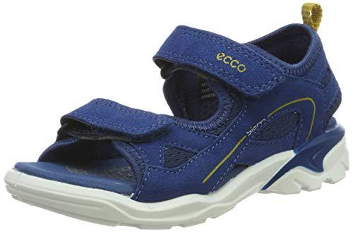 ECCO Jungen Biom Raft Peeptoe Sandalen, Blau (Poseidon 50139), 35 EU
