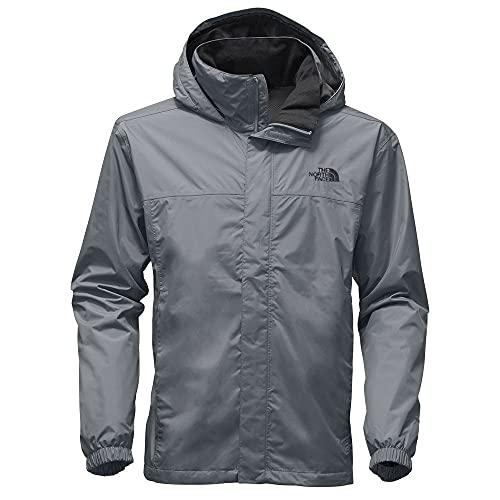 The North Face Men's Resolve Waterproof Jacket, Mid Grey/Mid Grey, S