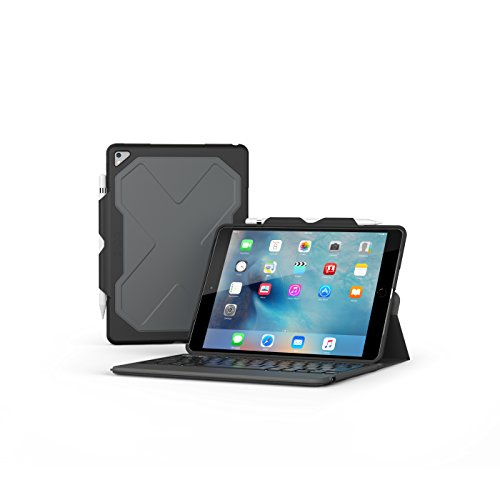 ZAGG Rugged Messenger Keyboard für iPad 2017 - Schwarz