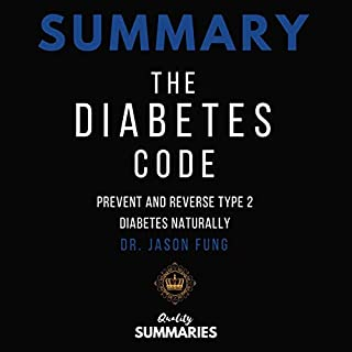 Summary: The Diabetes Code audiobook cover art