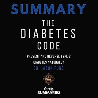 Page de couverture de Summary: The Diabetes Code