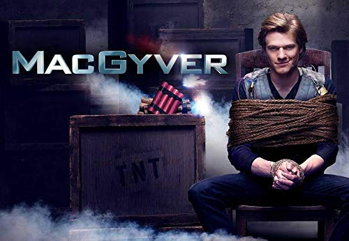 MacGyver Season 4 51cm x 35cm 20inch x 14inch TV Show Waterproof Poster *Anti-Fading* 9WP/863660315
