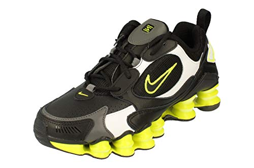 Nike Shox TL Nova, Running Shoe Womens, Negro/Veneno Limón/Gris Hierro, 36 EU