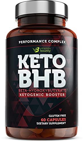 Exogenous ketone supplement - beta ketone sel, keto pills - 60 vitamin bounty capsules